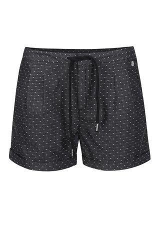 Pantaloni scurti gri inchis Ragwear High Dots cu model