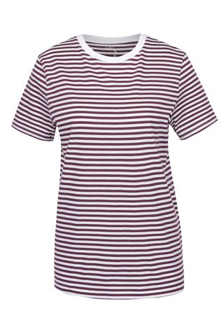 Tricou crem&bordo in dungi Selected Femme My Perfect