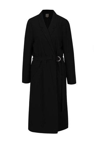Trenci negru Selected Femme Violie cu guler cu revere