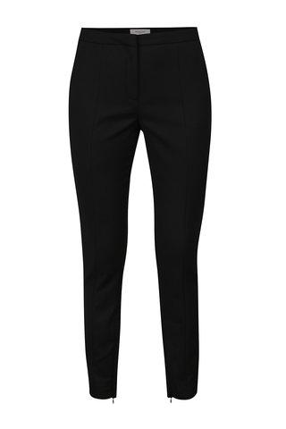Pantaloni negri cu fermoare ascunse Selected Femme Muse