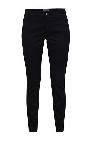 Pantaloni chino bleumarin Selected Femme Ingrid