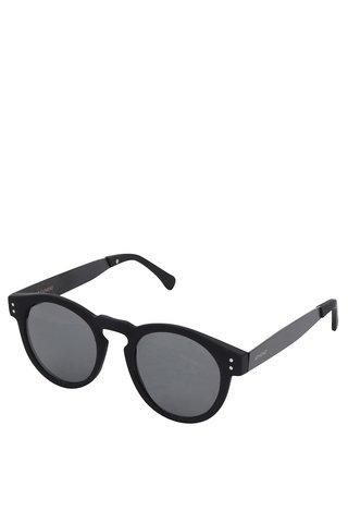 Ochelari de soare unisex cu rama neagra Komono Clement