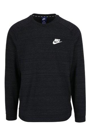 Bluza sport negru melanj cu buzunar pentru barbati Nike Modern
