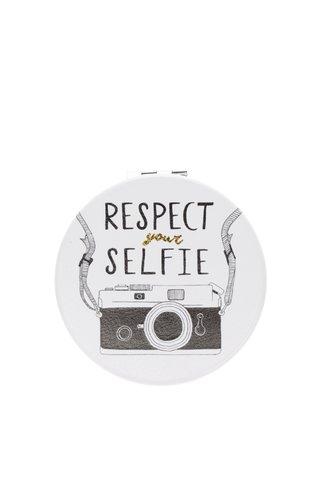 Oglida crem de buzunar cu print CGB Respect