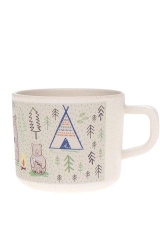 Cana din ceramica cu print camping Sass & Belle Bear Camp