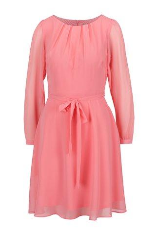 Rochie roz pudrat Billie & Blossom cordon in talie