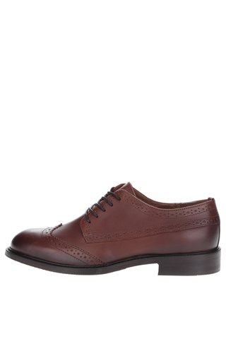 Pantofi Oxford maro  Selected Homme Baxter din piele