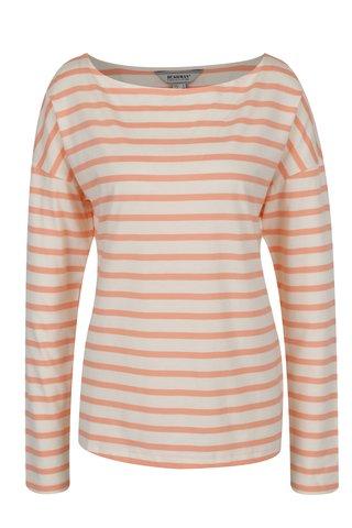 Bluza crem & oranj BUSHMAN Sailora imprimeu cu dungi