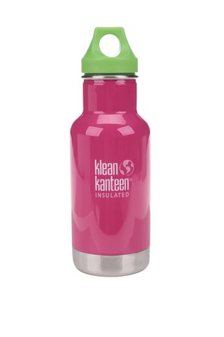 Termos roz & verde  Klean Kanteen Kid Classic Insulated 355 ml