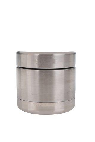 Nerezová termo dóza na jídlo ve stříbrné barvě Klean Kanteen Canister 237 ml