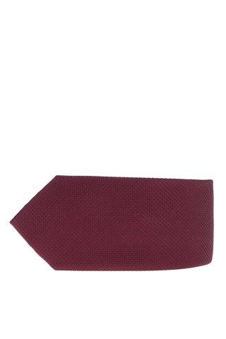 Cravata visinie din matase cu model discret Jack & Jones Premium Colombia