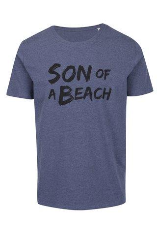 Tricou albastru melanj ZOOT Original Son of a beach