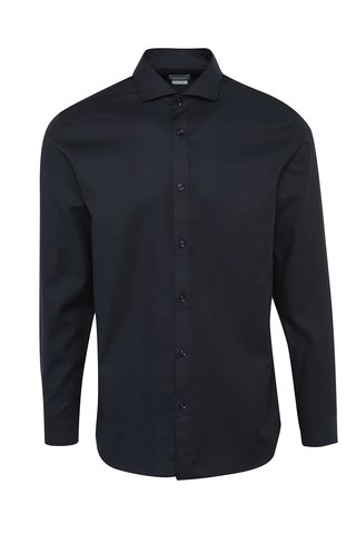 Camasa slim fit bleumarin din bumbac - Selected Homme One Sel