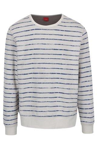 Bluza in dungi crem cu albastru  s.Oliver