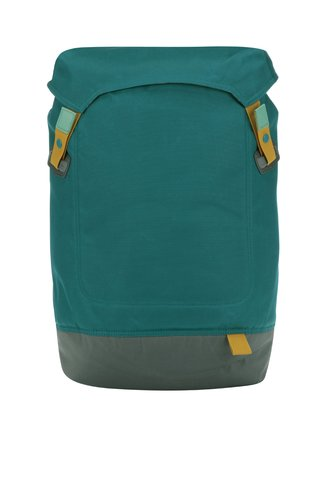 Šedo-petrolejový batoh na notebook Case Logic Larimer 22 l