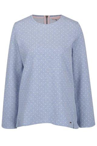 Bluza albastru melanj cu buline Tom Joule