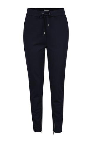 Pantaloni drepti albastru inchis - VILA Riasta