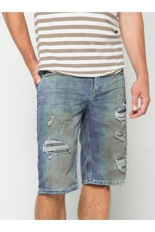 Pantaloni scurti albastri din denim s.Oliver pentru barbati