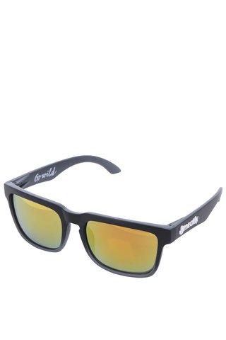 Ochelari de soare unisex cu lentile oranj - Meatfly