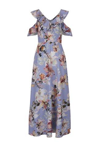 Rochie maxi albastra cu imprimeu floral Dorothy Perkins