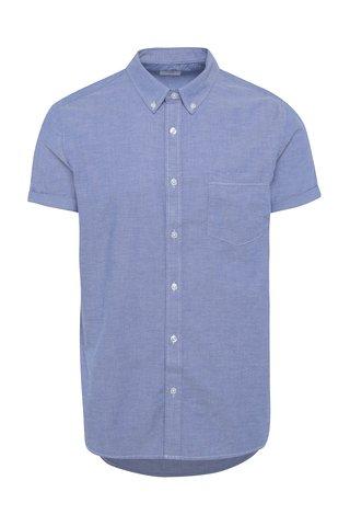 Camasa bleu din bumbac - Burton Menswear London