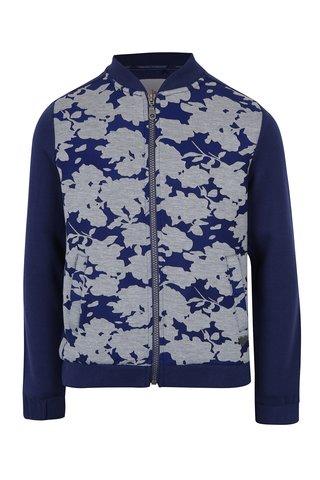 Jacheta bomber cu flori pentru fete - 5.10.15.