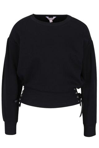 Pulover negru cu talie evidentiata - Miss Selfridge petites