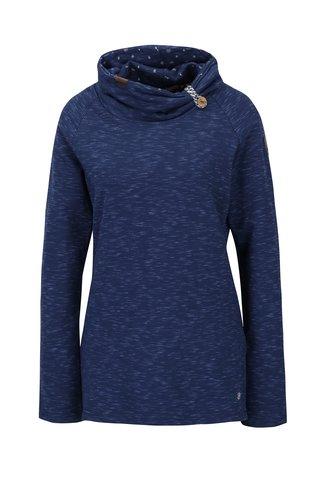 Bluza sport albastra cu guler inalt Ragwear Denise