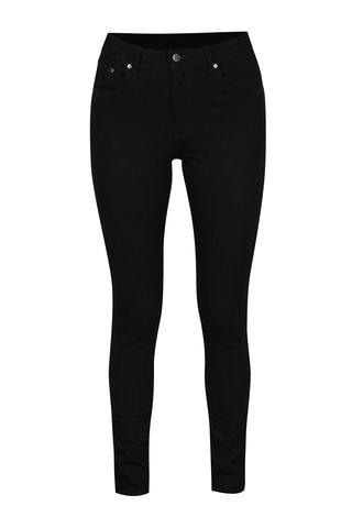 Černé dámské skinny džíny s vysokým pasem Cheap Monday Mid