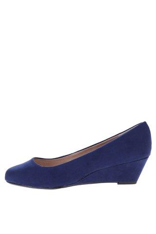 Pantofi albastri cu platforma - Dorothy Perkins