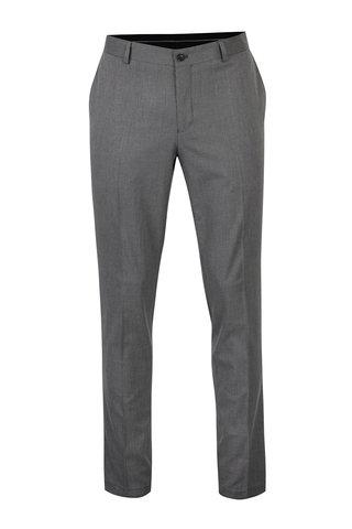 Pantaloni gri cu model - Selected Homme Skinny