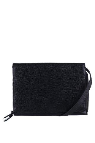 Černá kožená crossbody kabelka Royal RepubliQ