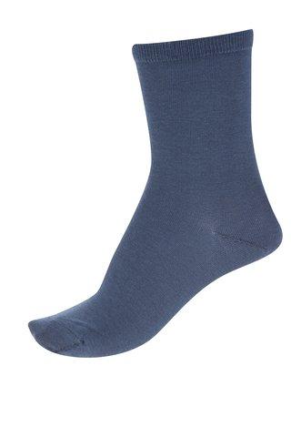 Modré ponožky Selected Femme Bobby