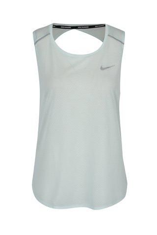 Top verde mentol din plasa pentru femei Nike Breathe