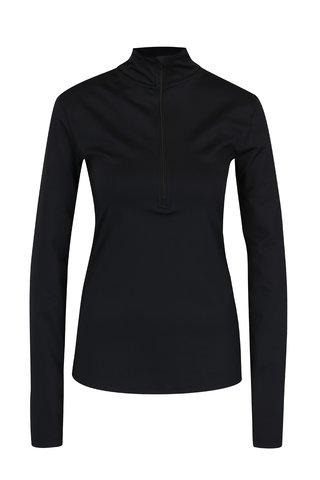 Helanca neagra cu fermoar pentru femei Nike Pro Warm