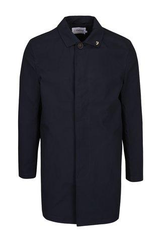 Jacheta lunga bleumarin din bumbac -  Farah Ossington