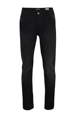Blugi slim fit negri cu aspect prespalat - Blend