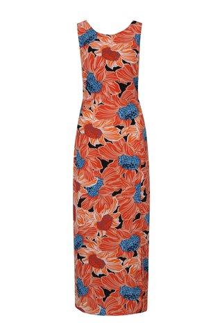Rochie maxi cu print floral si cordon Dorothy Perkins