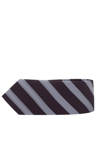Cravata burgundy din matase naturala - Selected Homme New
