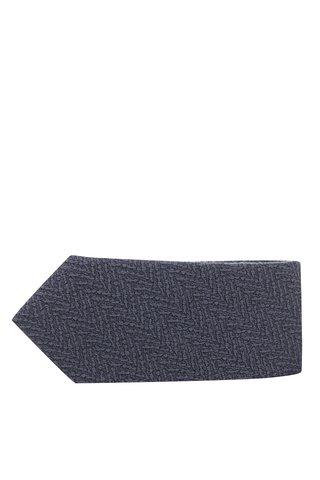 Cravata gri din lana si matase - Selected Homme New