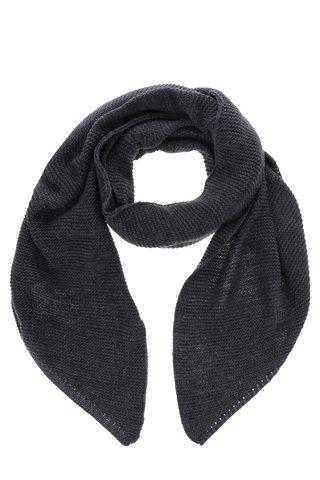 Esarfa gri inchis tricotata VERO MODA Misty