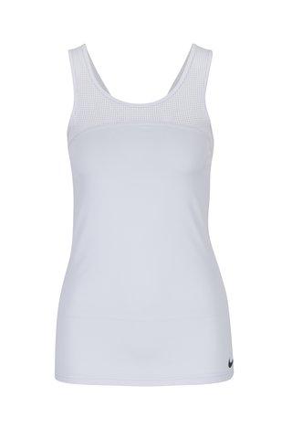 Top sport alb cu perforatii  Nike