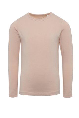 Růžové holčičí tričko s dlouhým rukávem name it Viola