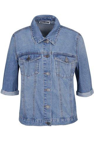 Jacheta albastra din denim- Noisy May Mino