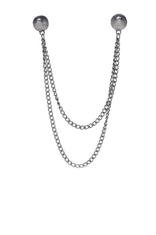 Brosa argintie pentru gulerul camasii - VERO MODA Sisse
