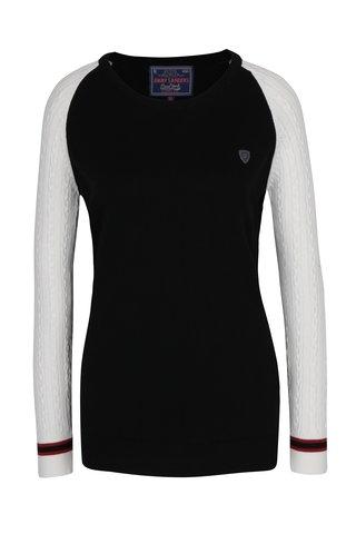 Pulover negru & crem pentru femei -  Jimmy Sanders