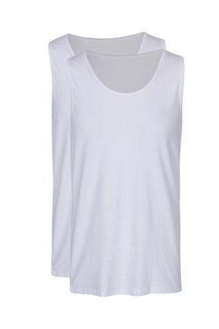 Sada dvou pánských tílek pod košili v bílé barvě M&Co