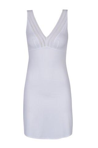 Bílá dámská košilka s průsvitnými detaily M&Co