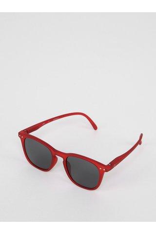 Vínové dětské sluneční brýle s tmavými skly IZIPIZI  #E