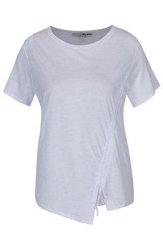 Tricou alb asimetric - TALLY WEiJL